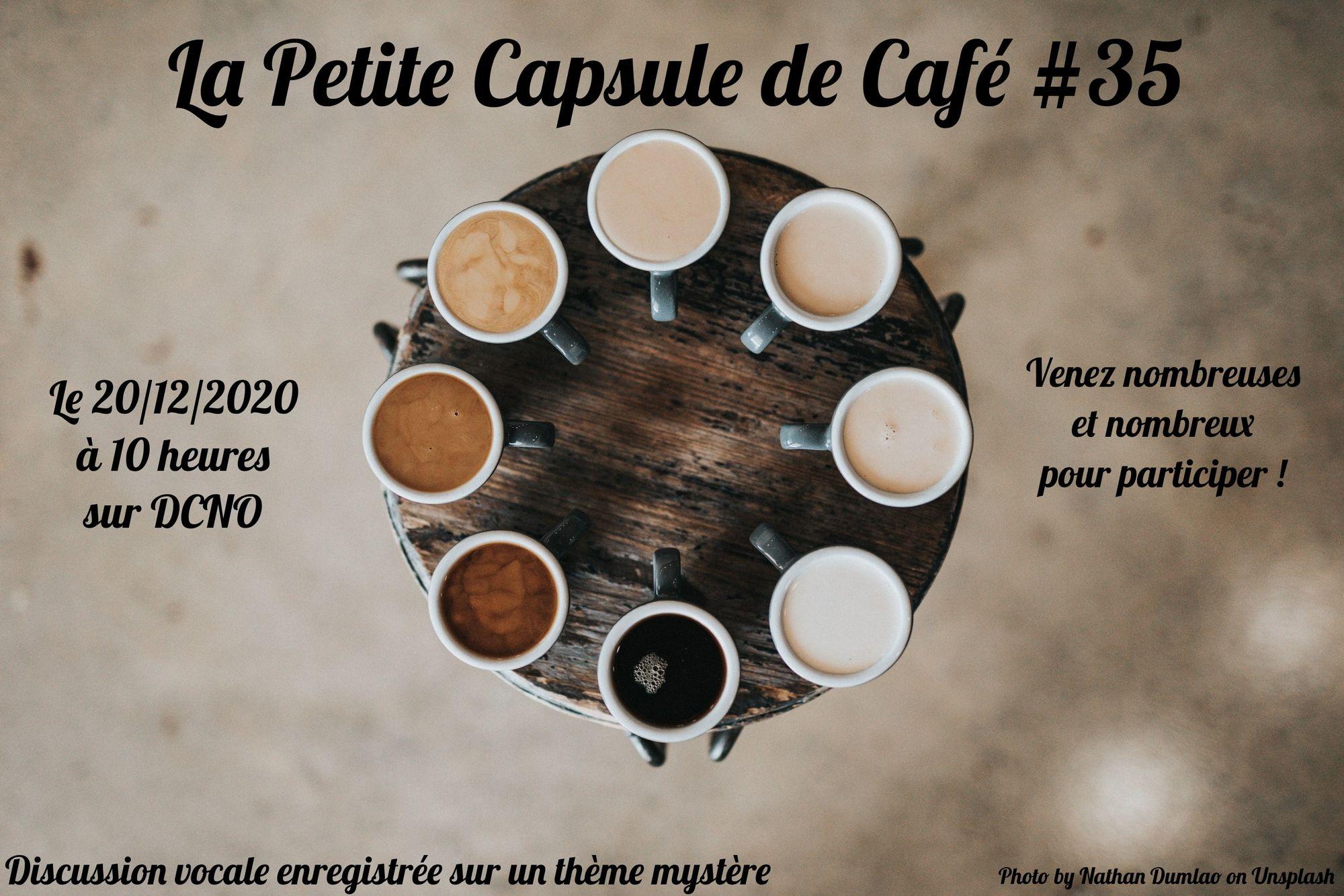 La Petite Capsule de Café #35 : L'expérience des joueurses